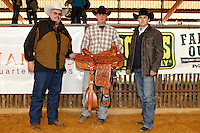HONDO , TX - JANUARY 30, 2010: The First Annual Namgis Premier Calf Roping Fundraiser for Multiple Sclerosis held at the Namgis Quarter Horses Arena. (Photo by Jeff Huehn)