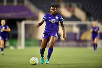Orlando, FL - Saturday September 10, 2016: Jamia Fields during a regular season National Women's Soccer League (NWSL) match between the Orlando Pride and Sky Blue FC at Camping World Stadium.
