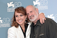 VENICE, ITALY - SEPTEMBER 07: Noomi Rapace and Brian De Palma at the 'Passion' Photocall during the 69th Venice Film Festival at the Palazzo del Casino on September 7, 2012 in Venice, Italy. &copy;&nbsp;Maria Laura Antonelli/AGF/MediaPunch Inc. ***NO ITALY*** /NortePhoto.com<br />