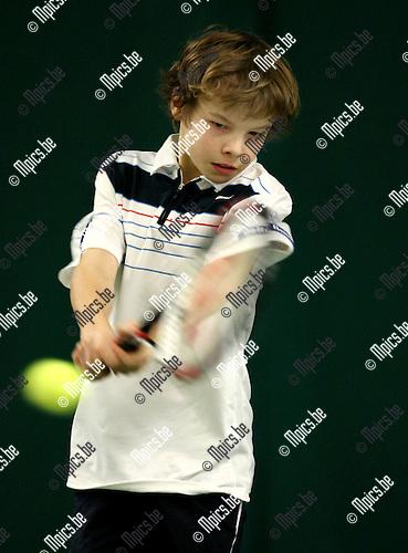 2008-04-06 / Tennis / Jeugdtoernooi Heiveld / Michael Geerts ..Foto: Maarten Straetemans (SMB)