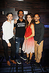 Joyce Becker's Soap Opera Festival brings actors from Young and Restless - Amelia Heinle, Kristoff St. John, Bryton James and Robert Adamson on September 26, 2015 to Caesers Horseshoe Casino in Baltimore, Maryland for a Q&A with fans with a drawing for lucky fans to meet the actors for autographs and photos.  (Photo by Sue Coflin/Max Photos)