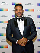 Actor Anthony Anderson arrives for the formal Artist's Dinner honoring the recipients of the 40th Annual Kennedy Center Honors hosted by United States Secretary of State Rex Tillerson at the US Department of State in Washington, D.C. on Saturday, December 2, 2017. The 2017 honorees are: American dancer and choreographer Carmen de Lavallade; Cuban American singer-songwriter and actress Gloria Estefan; American hip hop artist and entertainment icon LL COOL J; American television writer and producer Norman Lear; and American musician and record producer Lionel Richie.  <br /> Credit: Ron Sachs / Pool via CNP