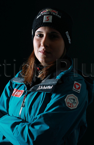 16.10.2010  Winter sports OSV Einkleidung Innsbruck Austria. Snowboarding OSV Austrian Ski Federation. Einkleidung women Photo call Picture shows Ina Meschik AUT
