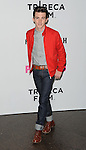 Drake Bell arriving at the Los Angeles Premiere of Palo Alto, held at Directors Guild of America May 5, 2014.