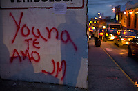 Merida_VEN, Venezuela...Pichacao em muro em Merida, Venezuela...Graffiti on the wall in Merida, Venezuela...Foto: JOAO MARCOS ROSA / NITRO
