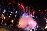 BOGOTÁ - COLOMBIA, 11-01-2019:Inauguración del Torneo Fox Sports 2019  en el estadio Nemesio Camacho El Campín de la ciudad de Bogotá. /Inauguration Fox Sport Tournament 2019 at the Nemesio Camacho El Campin Stadium in Bogota city. Photo: VizzorImage / Felipe Caicedo / Staff.