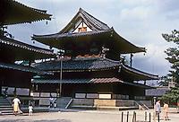 Nara Prefecture: Horyuji Temple, The Kondo (Golden Hall). Photo '82.