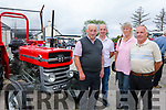 Enjoying the  6th annual Mid Kerry Vintage Rally in Castlemaine were William Magan, William Magan Jr. Tina O'Connor and Jim O'Connor