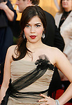 LOS ANGELES, CA. - January 25: Actress America Ferrera arrives at the 15th Annual Screen Actors Guild Awards held at the Shrine Auditorium on January 25, 2009 in Los Angeles, California.