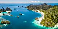 coral reef, Wayag Islands, Pulau Wayag, Raja Ampat Islands, West Papua, Indonesia, Indo-Pacific Ocean