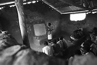 Mozambico,maestra di scuola elementare in provincia di Nampula