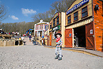 Commercial photography shot at the new 'Cowboy Town' at Blackgang Chine, Land of Imagination, Isle of Wight.