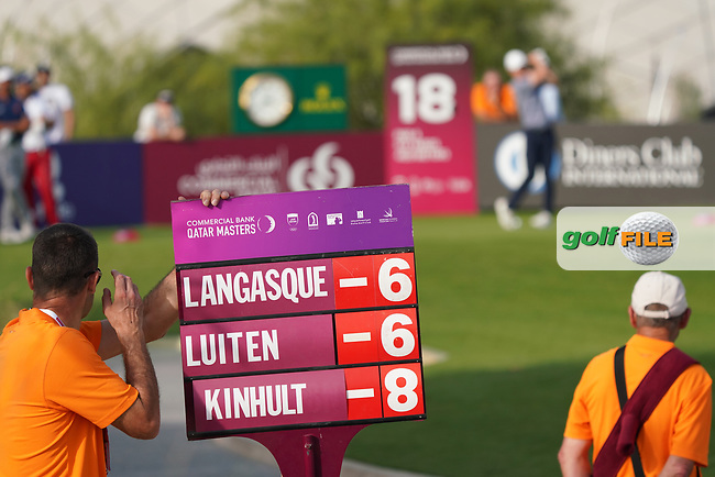 Joost Luiten (NED) during the third round of the Commercial Bank Qatar Masters 2020, Education City Golf Club , Doha, Qatar. 07/03/2020<br /> Picture: Golffile | Phil Inglis<br /> <br /> <br /> All photo usage must carry mandatory copyright credit (© Golffile | Phil Inglis)