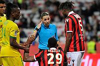 Stephanie Frappart - arbitro <br /> 11/05/2019 <br /> OGC Nice vs FC Nantes  <br /> Photo Norbert Scanella / Panoramic / Insidefoto