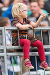 22.07.2017, Millerntor-Stadion, Hamburg, GER, FSP, FC St. Pauli vs SV Werder Bremen<br /> <br /> im Bild<br /> junger weiblicher FC St. Pauli Fan, <br /> <br /> Foto &copy; nordphoto / Ewert