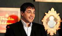 SAO PAULO, SP, 27 DE FEVEREIRO 2012 - COLETIVA FAMILIA ADDAMS  - O ator Daniel Boaventura durante coletiva de imprensa do espetáculo A Familia Addams, no Teatro Abril na manha desta segunda-feira, 27. (FOTO: WILLIAM VOLCOV  / BRAZIL PHOTO PRESS).