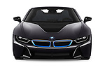 Car photography straight front view of a 2019 BMW i8 Base 2 Door Convertible