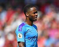 Raheem Sterling of Manchester City during AFC Bournemouth vs Manchester City, Premier League Football at the Vitality Stadium on 25th August 2019