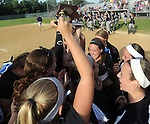 (Lowell MA 06/14/15) Methuen celebrates after winning the MIAA Division 1 State Final game, Sunday, June 14, 2015, at Martin Park in Lowell. Herald Photo by Jim Michaud