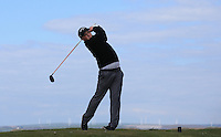 David Atkins during Round Two of the West of England Championship 2016, at Royal North Devon Golf Club, Westward Ho!, Devon  23/04/2016. Picture: Golffile | David Lloyd<br /> <br /> All photos usage must carry mandatory copyright credit (&copy; Golffile | David Lloyd)