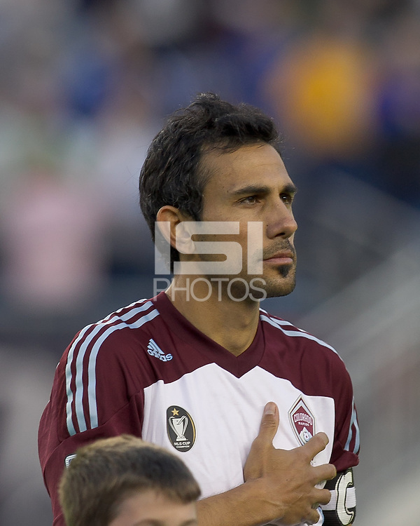 Pablo Mastroeni. In a Major League Soccer (MLS) match, the New England Revolution tied the Colorado Rapids, 0-0, at Gillette Stadium on May 7, 2011.