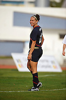 US forward Lauren Cheney, #11, at the 2010 Algarve Cup game in Vila Real Sto. Antonio, Portugal.