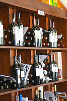 Wine shop. Wine slection from Douro. Lisbon, Portugal