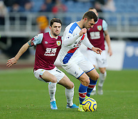 Crystal Palace's James McArthur under pressure from Burnley's Robbie Brady<br /> <br /> Photographer Rich Linley/CameraSport<br /> <br /> The Premier League - Burnley v Crystal Palace - Saturday 30th November 2019 - Turf Moor - Burnley<br /> <br /> World Copyright © 2019 CameraSport. All rights reserved. 43 Linden Ave. Countesthorpe. Leicester. England. LE8 5PG - Tel: +44 (0) 116 277 4147 - admin@camerasport.com - www.camerasport.com