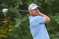 Scott Brown (USA) watches his tee shot on 9 during 4th round of the 100th PGA Championship at Bellerive Country Club, St. Louis, Missouri. 8/12/2018.<br /> Picture: Golffile   Ken Murray<br /> <br /> All photo usage must carry mandatory copyright credit (© Golffile   Ken Murray)