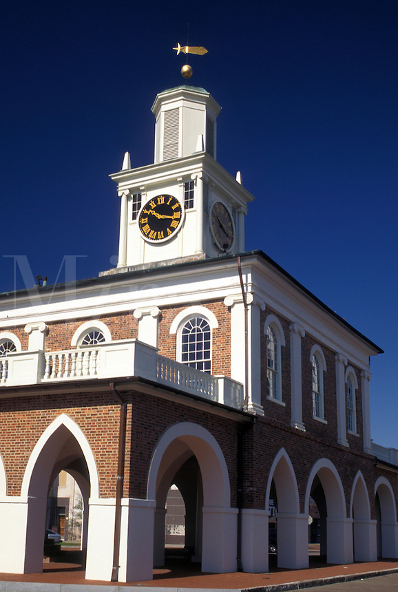 Fayetteville, NC, North Carolina, Old Market House ca. 1832 at Market House Square in the center of downtown Fayetteville.