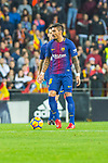 Sergio Busquets Burgos of FC Barcelona is seen during the La Liga 2017-18 match between Valencia CF and FC Barcelona at Estadio de Mestalla on November 26 2017 in Valencia, Spain. Photo by Maria Jose Segovia Carmona / Power Sport Images