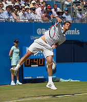 PAUL-HENRI MATHIEU (FRA)<br /> <br /> Aegon Championships 2014 - Queens Club -  London - UK -  ATP - ITF - 2014  - Great Britain -  11th June 2014. <br /> <br /> &copy; AMN IMAGES