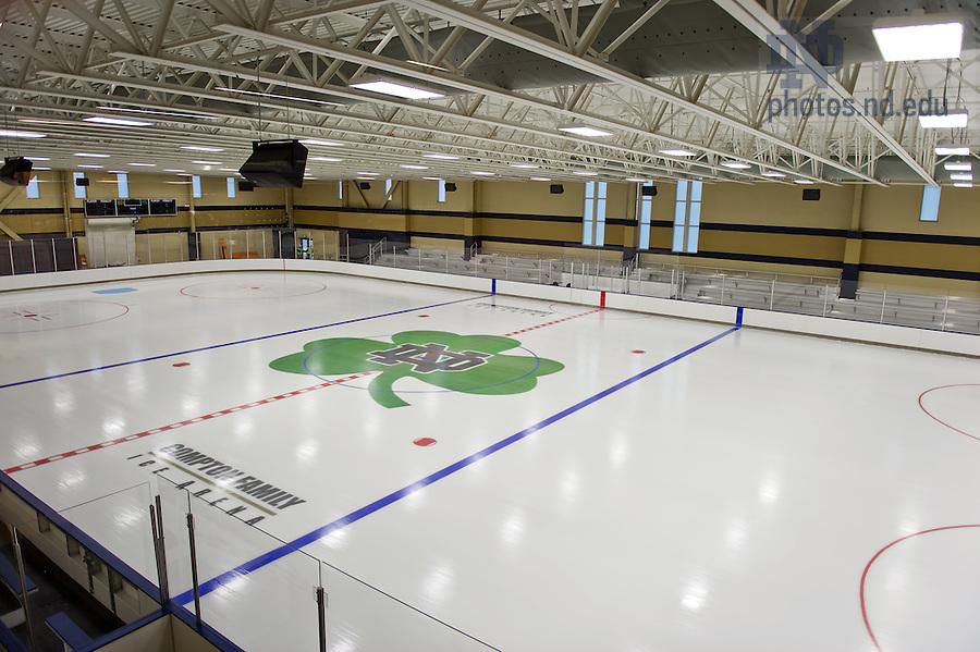 Oct. 19, 2011; Secondary rink, Compton Family Center Arena..Photo by Matt Cashore/University of Notre Dame