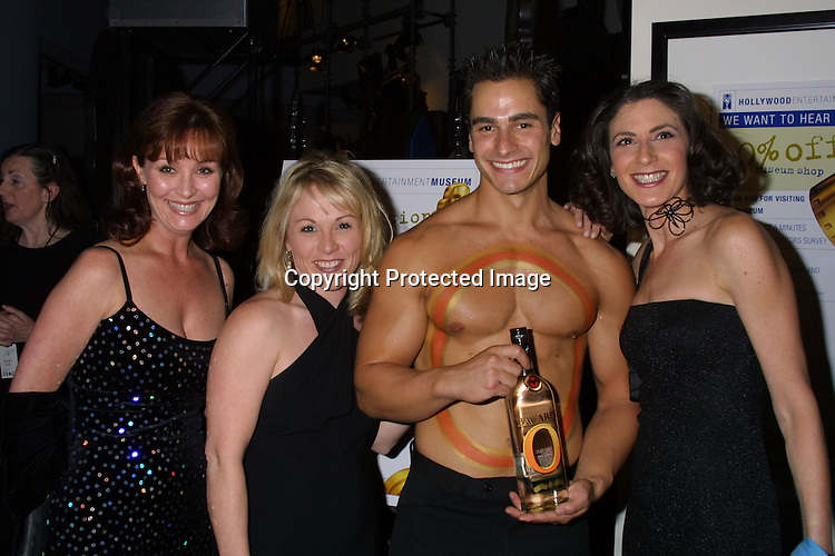 ©2003 KATHY HUTCHINS/ HUTCHINS PHOTO.JOHNNY GRANT 80TH BIRTHDAY AND LIFETIME ACHIEVEMENT.AWARD BY HOLLYWOOD ENTERTAINMENT MUSEUM.HOLLYWOOD, CA.MAY 10, 2003.
