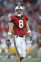 4 November 2006: Evan Moore during Stanford's 42-0 loss to USC at Stanford Stadium in Stanford, CA.