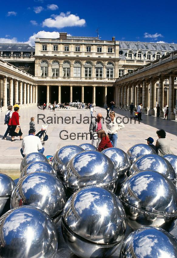 Frankreich, Paris: Palais Royal, Stadtpalast   France, Paris: Palais Royal, originally called the Palais-Cardinal, palace