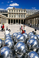Frankreich, Paris: Palais Royal, Stadtpalast | France, Paris: Palais Royal, originally called the Palais-Cardinal, palace