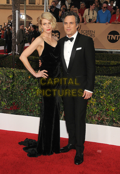 30 January 2016 - Los Angeles, California - Sunrise Coigney, Mark Ruffalo. 22nd Annual Screen Actors Guild Awards held at The Shrine Auditorium.      <br /> CAP/ADM/BP<br /> &copy;BP/ADM/Capital Pictures