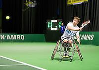 Februari 12, 2015, Netherlands, Rotterdam, Ahoy, ABN AMRO World Tennis Tournament, Alfie Hewett (GBR)<br /> Photo: Tennisimages/Henk Koster