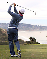 23 JAN 13  Kyle Stanley on the 6th tee during The Farmers Insurance Open at Torrey Pines Golf Course in La Jolla, California. (photo:  kenneth e.dennis / kendennisphoto.com)