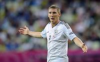 FUSSBALL  EUROPAMEISTERSCHAFT 2012   VIERTELFINALE Deutschland - Griechenland     22.06.2012 Bastian Schweinsteiger (Deutschland)