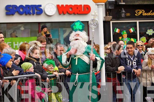 Manus Leane pictured at the Tralee Saint Patrick's day parade on Sunday