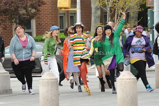 WWW.ACEPIXS.COM . . . . . .April 29, 2011...Cast of Glee tapes final episode of 2011 in Washington Square Park on April 29, 2011 in New York City....Please byline: KRISTIN CALLAHAN - ACEPIXS.COM.. . . . . . ..Ace Pictures, Inc: ..tel: (212) 243 8787 or (646) 769 0430..e-mail: info@acepixs.com..web: http://www.acepixs.com .