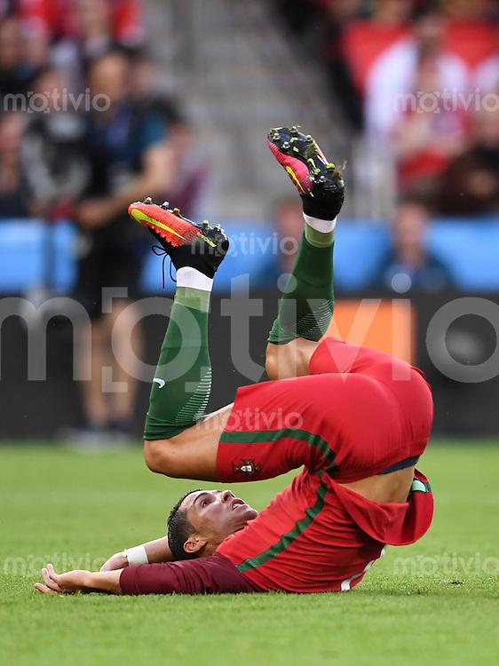 FUSSBALL EURO 2016 GRUPPE F IN PARIS Portugal - Oesterreich      18.06.2016 Cristiano Ronaldo (Portugal)