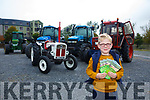 Launching the Charity Tractor Run in aid of MS and the Emily neonatal ward at KUH on October 8th starting from the Rose Hotel