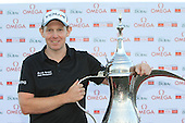 Stephen Gallacher (SCO) wins the tournament by 3 shots with a score  of -22 at the end of Sunday's Final Round of the 2013 Omega Dubai Desert Classic held at the Emirates Golf Club, Dubai, 3rd February 2013..Photo Eoin Clarke/www.golffile.ie