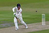Keaton Jennings in batting action for Lancashire during Lancashire CCC vs Essex CCC, Specsavers County Championship Division 1 Cricket at Emirates Old Trafford on 9th June 2018