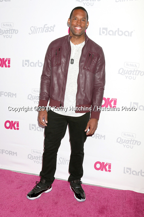 LOS ANGELES - MAY 17:  Lawrence Saint-Victor at the OK! Magazine Summer Kick-Off Party at the W Hollywood Hotel on May 17, 2017 in Los Angeles, CA