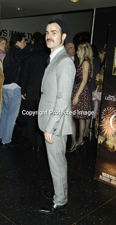 "Justin Theroux ..at a Special Screening of "" Casanova"" on December 11, 2005 at The Loews Lincoln Square Theatre. ..Photo by Robin Platzer, Twin Images"