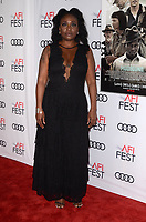 HOLLYWOOD, CA - NOVEMBER 09: Tamar-kali at AFI Fest 2017 Opening Night Gala Screening Of Netflix's Mudbound at TCL Chinese Theatre on November 9, 2017 in Hollywood, California. <br /> CAP/MPI/DE<br /> &copy;DE/MPI/Capital Pictures